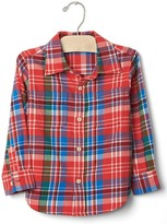 Gap Plaid twill shirt