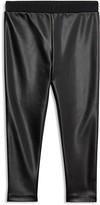 Ralph Lauren Girls' Faux-Leather Leggings - Little Kid