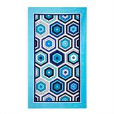 Jonathan Adler Honeycomb Beach Towel