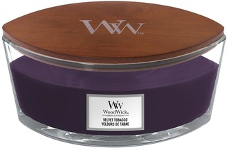 Woodwick Ellipse Jar Candle Velvet Tobacco