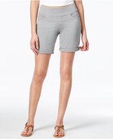 Jag Jordan Pull-On Denim Shorts