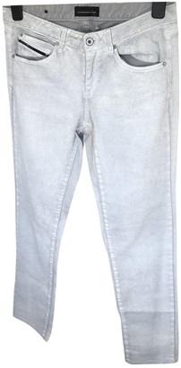 Diesel Black Gold Silver Cotton - elasthane Jeans for Women
