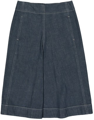 Lemaire Blue Cotton Skirts