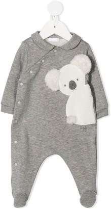 Il Gufo Koala-Appliqued Pajamas