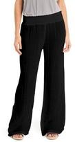 Michael Stars Women's Smocked Wide Leg Pants