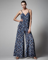 Paisley Wide-Leg Jumpsuit