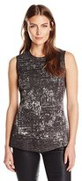 Nic+Zoe Women's Tailored Tapestry Top