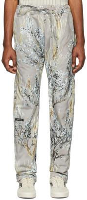 Fear Of God Grey Camo Baggy Lounge Pants