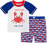 Asstd National Brand Boys Crab Trunk Set - Toddler
