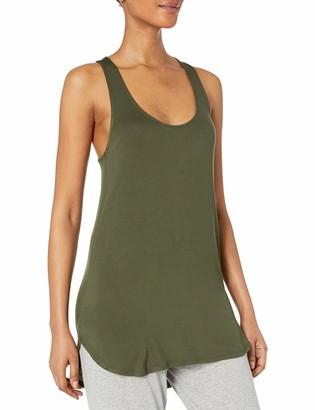 Mae Amazon Brand Women's Loungewear Racerback Tank Top