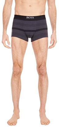 HUGO BOSS Trunks Stripe (Gunmetal/Black Stripes) Men's Underwear