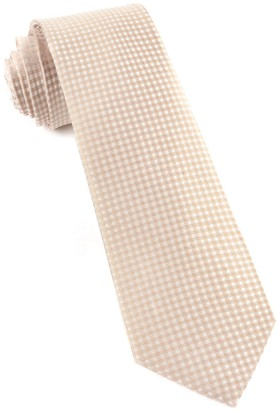 BHLDN The Tie BarThe Tie Bar Champagne Be Married Checks Tie