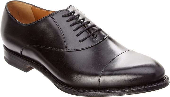 Gucci Leather Lace-Up Oxford