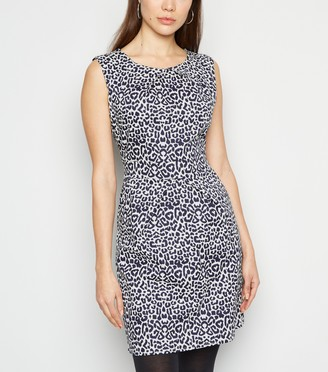 New Look Mela Leopard Print Tulip Dress