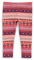 Tea Collection Infant Girl's Fair Isle Leggings