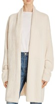 Vince Textured Shawl-Collar Duster Cardigan