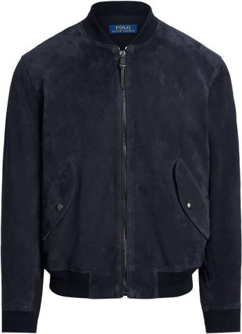 Ralph Lauren Suede Bomber Jacket