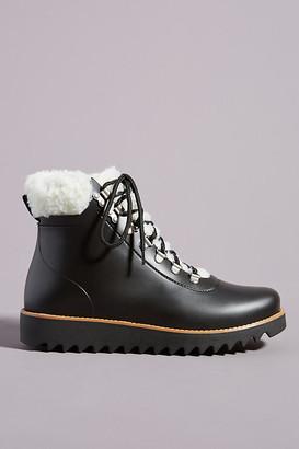 Bernardo Wiley Sherpa Rain Boots By in Black Size 10