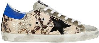 Golden Goose Superstar Low-Top Embossed Sneakers