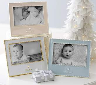 Pottery Barn Kids White Frame BABY!