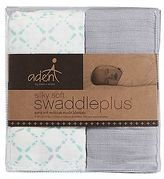 Aden Anais Aden by aden + anais 2-pk. Bitsy Silky Soft SwaddlePlus Muslin Swaddles