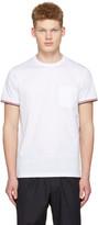 Moncler White Maglia Pocket T-Shirt