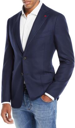 Isaia Men's Cortina Wool Blazer