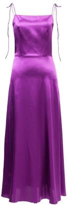 Lake Studio Midi Silk Dress