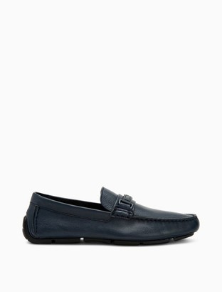 Calvin Klein Karns Soft Tumbled Leather Loafer