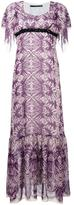 Maurizio Pecoraro printed long dress - women - Silk/Polyester/Spandex/Elastane - 40
