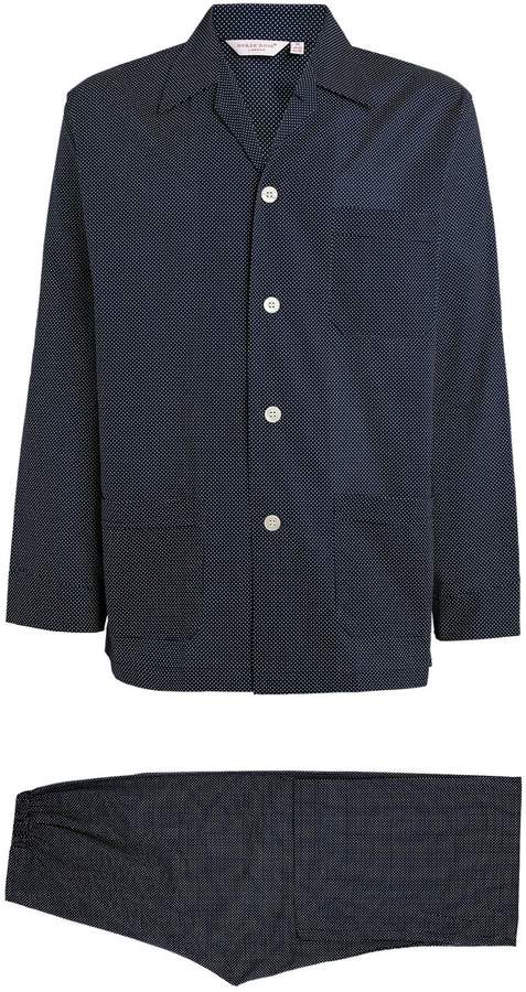 Derek Rose Plaza Classic Fit Pyjama Set