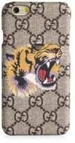 Gucci GG Supreme & Tiger-Printed iPhone 6 Case