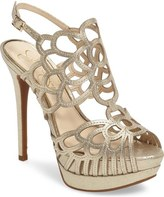 Jessica Simpson Weslynn Cutout Platform Sandal (Women)