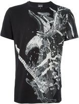 Just Cavalli guitar eagle print T-shirt