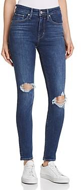 Levi's 721 High Rise Skinny Jeans in Indigo Luna