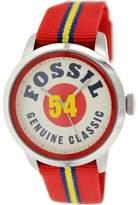 Fossil Men's Townsman FS4922 Multicolor Nylon Quartz Watch