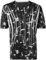 Issey Miyake graphic print T-shirt - men - Cotton/Polyester - 1