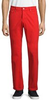AG Adriano Goldschmied Five-Pocket Sud Jeans, Red