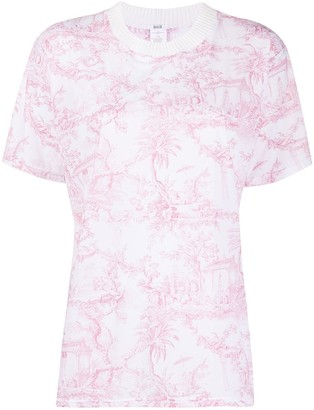 Wolford Antoinette abstract print T-shirt