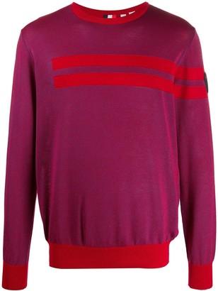 Rossignol Knitted Striped Pattern Jumper
