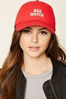 Forever 21 Bae Watch Graphic Baseball Cap