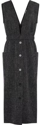 Great Plains Modern Tweed V Neck Dress