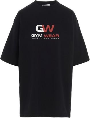 Balenciaga Gym Wear Oversized T-Shirt
