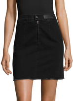 Zadig & Voltaire Women's Juny Denim Skirt