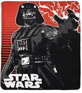 Star Wars Disney Lucas Films' Darth Vedar Fleece Throw 46 X 60""