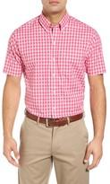 Cutter & Buck Men's Big & Tall Diego Regular Fit Check Sport Shirt