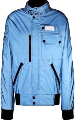 Maison Margiela Iridescent-effect Shell Jacket