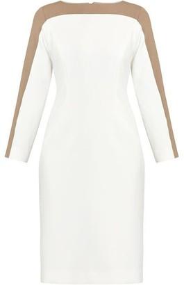 Helen McAlinden Charlotte White & Mink Dress