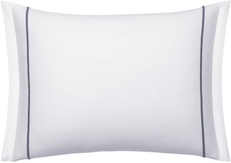 Vera Wang Embroidered Zigzag Cotton Accent Pillow