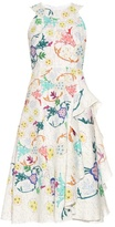 Peter Pilotto Japanese floral-print sleeveless dress